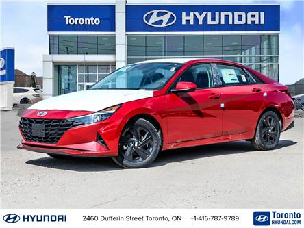 2021 Hyundai Elantra Preferred w/Sun & Safety Package (Stk: N22783) in Toronto - Image 1 of 28
