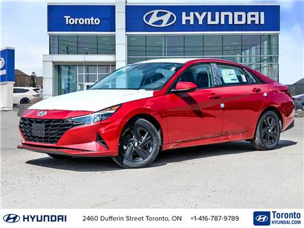 2021 Hyundai Elantra Preferred w/Sun & Safety Package (Stk: N22789) in Toronto - Image 1 of 28