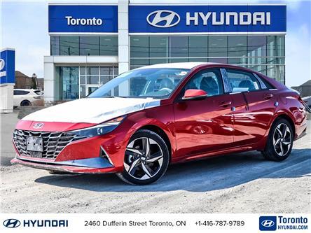 2021 Hyundai Elantra Ultimate w/Black Seats (Stk: N22872) in Toronto - Image 1 of 30