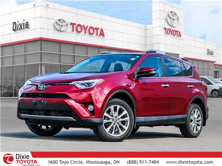 2018 Toyota RAV4 Limited (Stk: D210839A) in Mississauga - Image 1 of 29