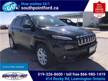 2018 Jeep Cherokee North (Stk: S10627R) in Leamington - Image 1 of 25