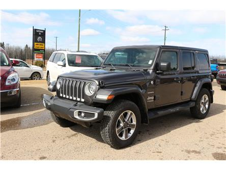 2021 Jeep Wrangler Unlimited Sahara (Stk: MT048) in Rocky Mountain House - Image 1 of 30