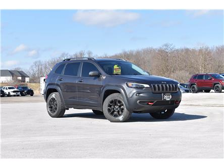 2019 Jeep Cherokee Trailhawk (Stk: 21324A) in London - Image 1 of 22