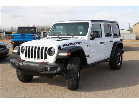 2021 Jeep Wrangler Unlimited Rubicon (Stk: MT046) in Rocky Mountain House - Image 1 of 30