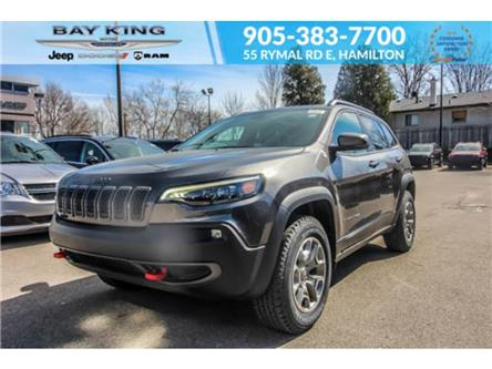 2021 Jeep Cherokee Trailhawk (Stk: 46978720) in Hamilton - Image 1 of 29