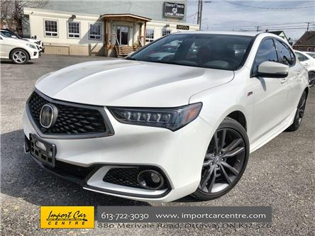 2018 Acura TLX Elite A-Spec (Stk: 802706) in Ottawa - Image 1 of 26