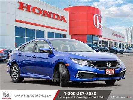 2019 Honda Civic EX (Stk: 21101A) in Cambridge - Image 1 of 27
