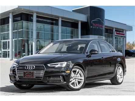 2018 Audi A4 2.0T Technik (Stk: 21HMS243) in Mississauga - Image 1 of 30