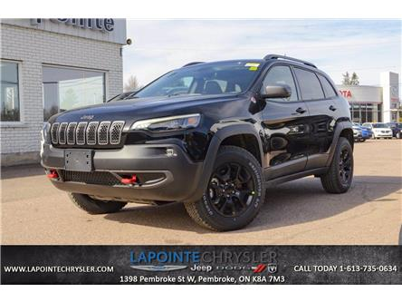 2021 Jeep Cherokee Trailhawk (Stk: 21087) in Pembroke - Image 1 of 30