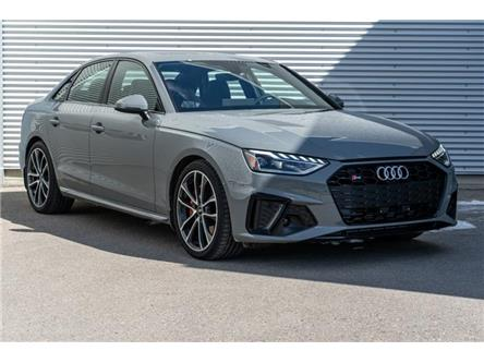 2021 Audi S4 3.0T Progressiv (Stk: N5871) in Calgary - Image 1 of 20