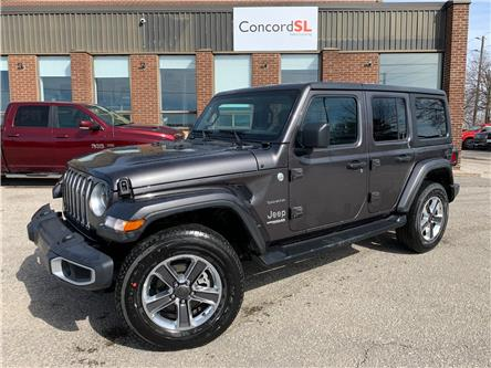 2021 Jeep Wrangler Unlimited Sahara (Stk: C5677) in Concord - Image 1 of 5
