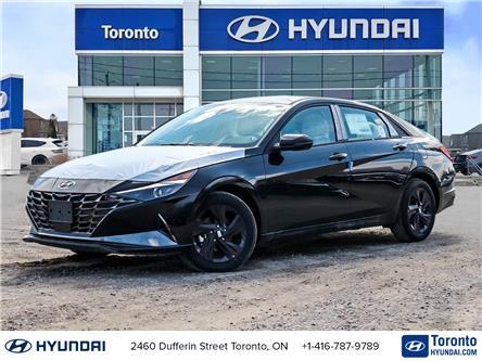 2021 Hyundai Elantra HEV Ultimate w/Two-Tone Interior (Stk: N22986) in Toronto - Image 1 of 30
