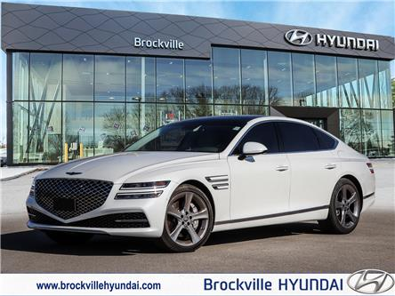 2021 Genesis G80 3.5T Prestige (Stk: R21225A) in Brockville - Image 1 of 30