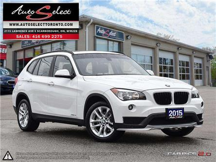 2015 BMW X1 xDrive28i (Stk: 1XW112X) in Scarborough - Image 1 of 28