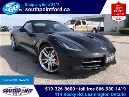 2017 Chevrolet Corvette Stingray Z51 (Stk: S10630R) in Leamington - Image 1 of 26