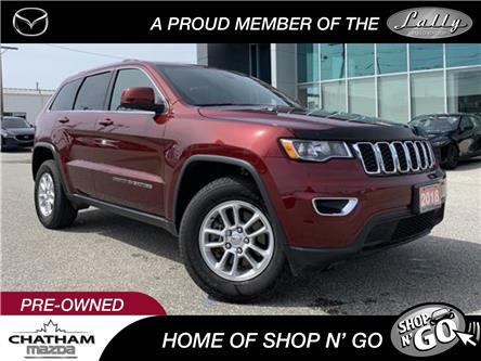 2018 Jeep Grand Cherokee Laredo (Stk: UM2587) in Chatham - Image 1 of 21
