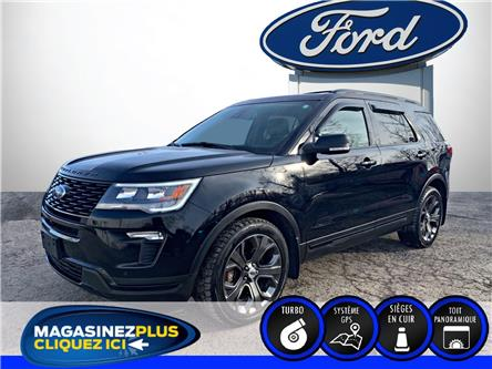 2018 Ford Explorer Sport (Stk: 21067A) in Saint-Jérôme - Image 1 of 22
