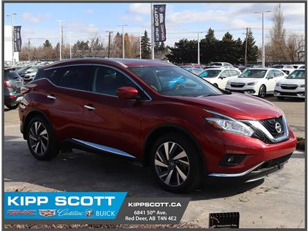 2017 Nissan Murano Platinum (Stk: 33405U) in Red Deer - Image 1 of 32