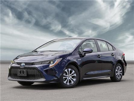 2021 Toyota Corolla Hybrid Base w/Li Battery (Stk: 21HC424) in Georgetown - Image 1 of 23