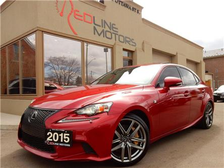 2015 Lexus IS 350 Base (Stk: JTHBE1) in Kitchener - Image 1 of 26