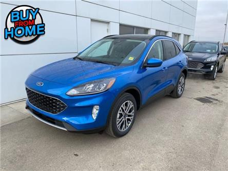 2021 Ford Escape SEL (Stk: ESC1007) in Nisku - Image 1 of 22