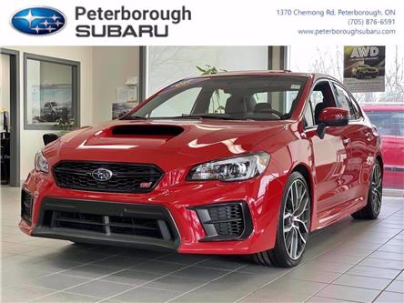 2020 Subaru WRX STI Sport-tech w/Lip (Stk: S4469) in Peterborough - Image 1 of 30