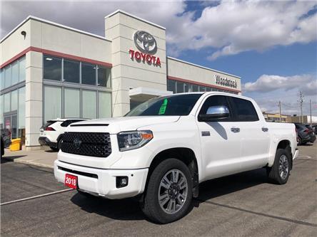 2018 Toyota Tundra  (Stk: 2033) in Woodstock - Image 1 of 20