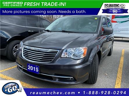 2015 Chrysler Town & Country Touring (Stk: 21-0370A) in LaSalle - Image 1 of 4
