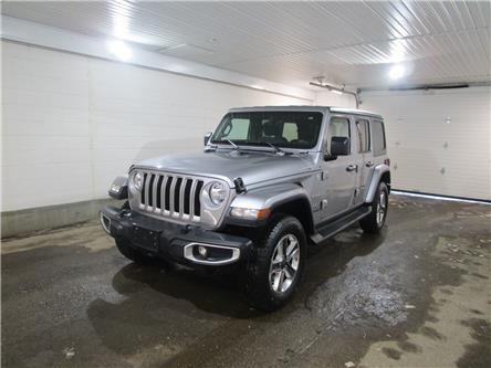2020 Jeep Wrangler Unlimited Sahara (Stk: F171848) in Regina - Image 1 of 32