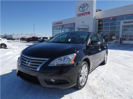 2015 Nissan Sentra 1.8 SL (Stk: 4RM097A) in Lloydminster - Image 1 of 16