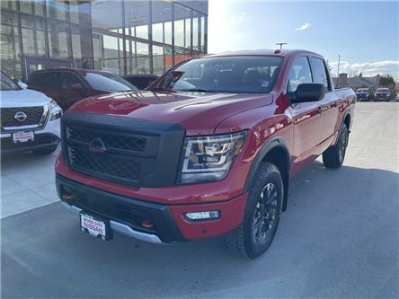 2021 Nissan Titan PRO-4X (Stk: T21102) in Kamloops - Image 1 of 28