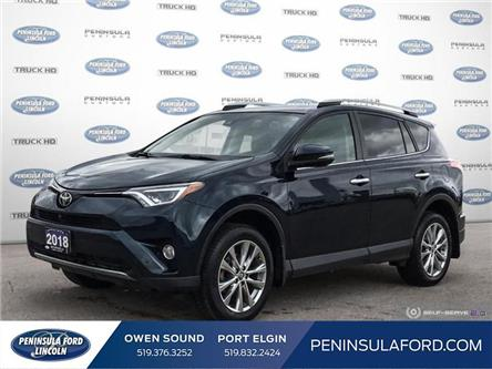 2018 Toyota RAV4  (Stk: 21FE92A) in Owen Sound - Image 1 of 25