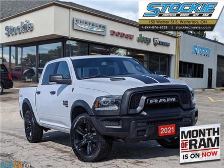 2021 RAM 1500 Classic SLT (Stk: 36035) in Waterloo - Image 1 of 16