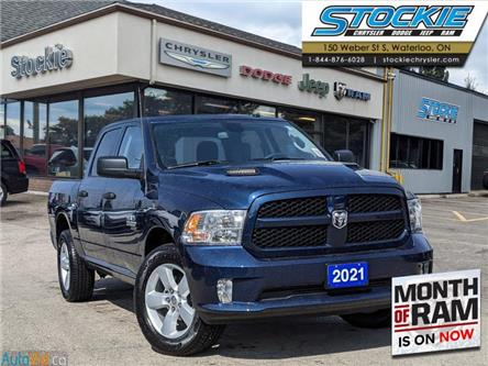 2021 RAM 1500 Classic Tradesman (Stk: 36046) in Waterloo - Image 1 of 15
