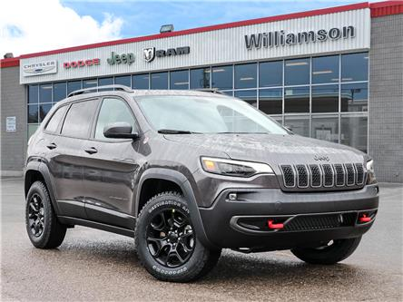 2021 Jeep Cherokee Trailhawk (Stk: 21-312) in Uxbridge - Image 1 of 27