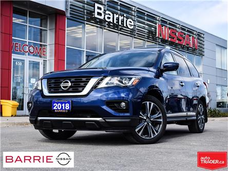 2018 Nissan Pathfinder Platinum (Stk: P4778) in Barrie - Image 1 of 30