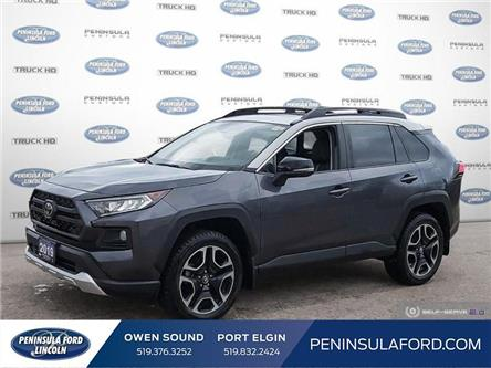 2019 Toyota RAV4 Trail (Stk: 20ES02B) in Owen Sound - Image 1 of 24