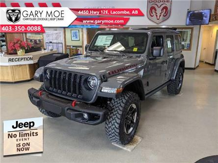 2021 Jeep Wrangler Unlimited Rubicon (Stk: F212622) in Lacombe - Image 1 of 18