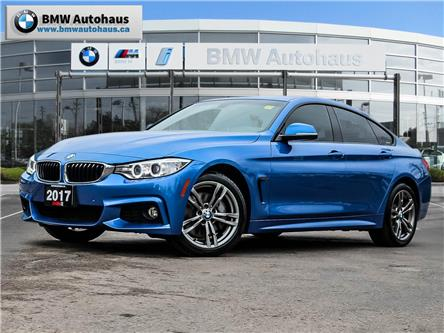 2017 BMW 430i xDrive Gran Coupe (Stk: P10244) in Thornhill - Image 1 of 30