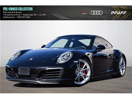 2017 Porsche 911 Carrera 4S (Stk: T19356AA) in Woodbridge - Image 1 of 26