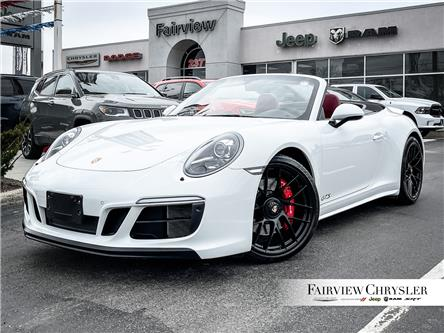 2018 Porsche 911 Carrera 4 GTS (Stk: U18492) in Burlington - Image 1 of 26