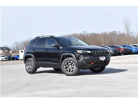 2021 Jeep Cherokee Trailhawk (Stk: 21351) in London - Image 1 of 18