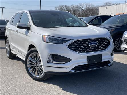 2021 Ford Edge Titanium (Stk: 21T235) in Midland - Image 1 of 13