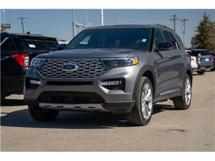 2021 Ford Explorer Platinum (Stk: MK-12) in Okotoks - Image 1 of 7