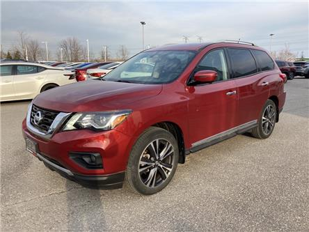 2017 Nissan Pathfinder Platinum (Stk: HC600066L) in Bowmanville - Image 1 of 13