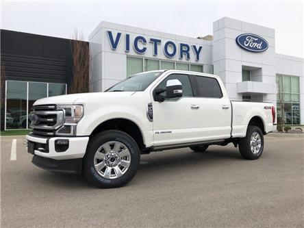 2021 Ford F-250 Platinum (Stk: VFF20164) in Chatham - Image 1 of 18