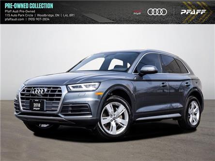 2018 Audi Q5 2.0T Technik (Stk: C8255) in Vaughan - Image 1 of 21