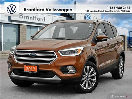 2017 Ford Escape Titanium (Stk: P14774A) in Brantford - Image 1 of 29