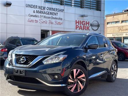 2017 Nissan Murano Platinum (Stk: U1917) in Toronto - Image 1 of 24