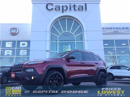 2016 Jeep Cherokee Trailhawk (Stk: M00074A) in Kanata - Image 1 of 27